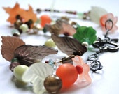 Jewelry, Necklace - Gemstones, Lucite, Vintage Beads, Gift for Her, Boho Chic, Accessories, Gift Box
