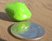Whole Lime Polymer Clay Pendant