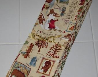 Reversible Placemats - Set of 4 - Seasonal Prints