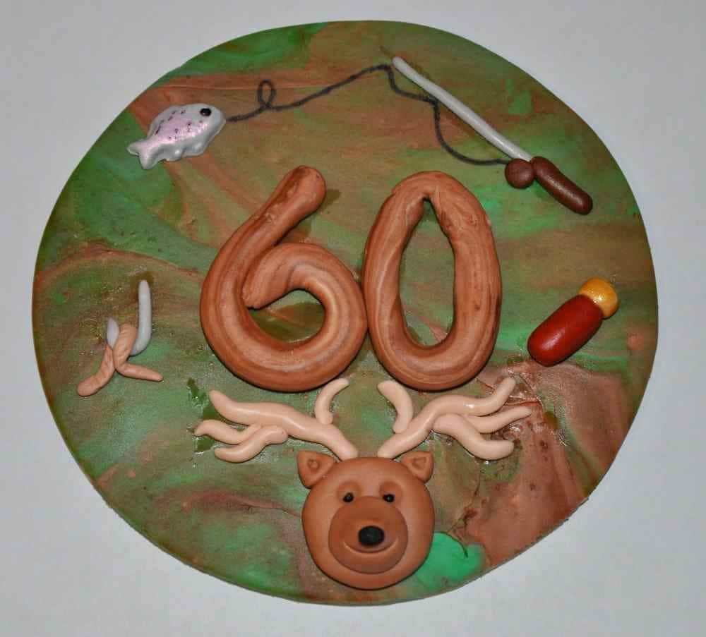 Items similar to Hunting and Fishing Cake Topper- Edible ...