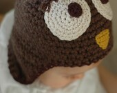 RESERVED LISTING Owl  Hat