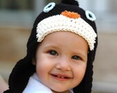 Penguin Hat for  2 to 4 Years