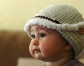Newborn Puffy Snow Hat Available size up to 3 Months