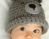 Bear beanie 2-4 Years