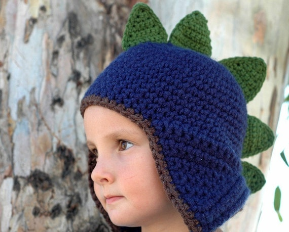 Newborn Dinosaur Hat Available size up to 3 Months