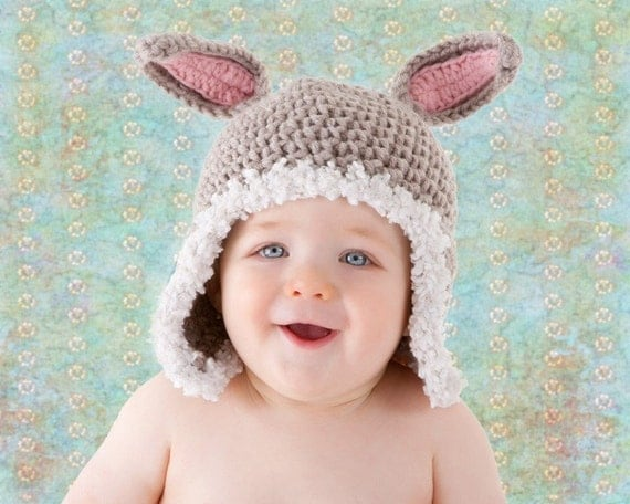 RESERVED LISTING Bunny  Hat