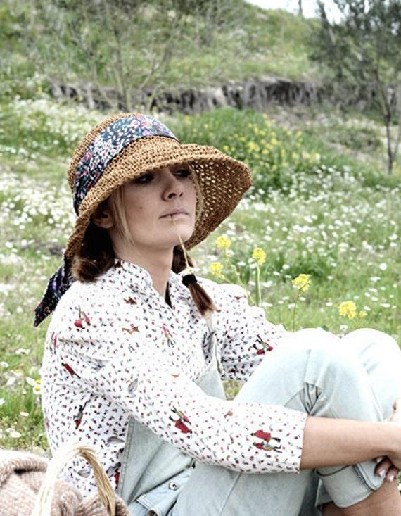 Straw Summer Sun Hat