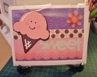 DOLCE gelato greeting card