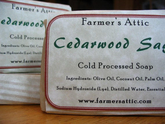 Cedarwood Sage Soap