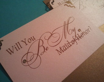 Lovely- Will You Be My Bridesmaid... Cards