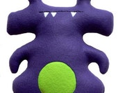 Mr. Peepers Plush Monster Cutie - STORE CLOSING SALE-  Reduced from 23 dollars