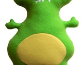 Big Eyed Plush Monster Cutie - STORE CLOSING SALE- Reduced from 23 dollars