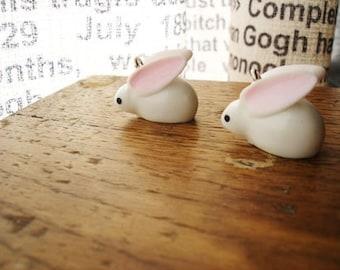 4 Pcs Cute Snow Bunny