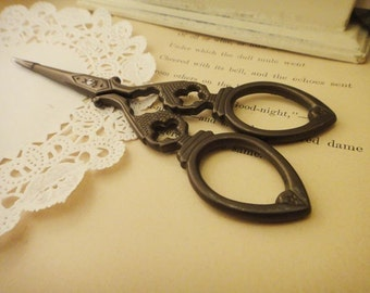 old-fashioned scissors II