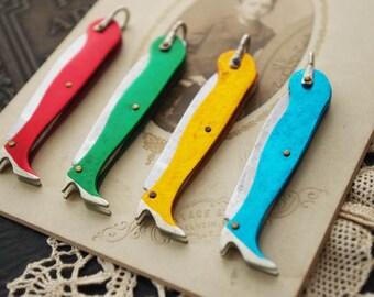 1Pcs Vintage CFMB pocket knife pendant