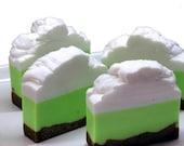 Key Lime Pie Whipped Shea Butter Soap Bar