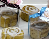 Set of 20 Bun in the Oven Cinnamon Bun Soap Baby Shower Party Favors