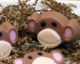 Set of 10 Bananas Monkey Soap Safari Zoo Animal Kids Party Favors Fun Girl Boy Gift