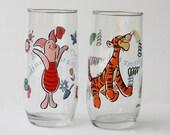 Tigger & Piglet Glass - Winnie The Pooh
