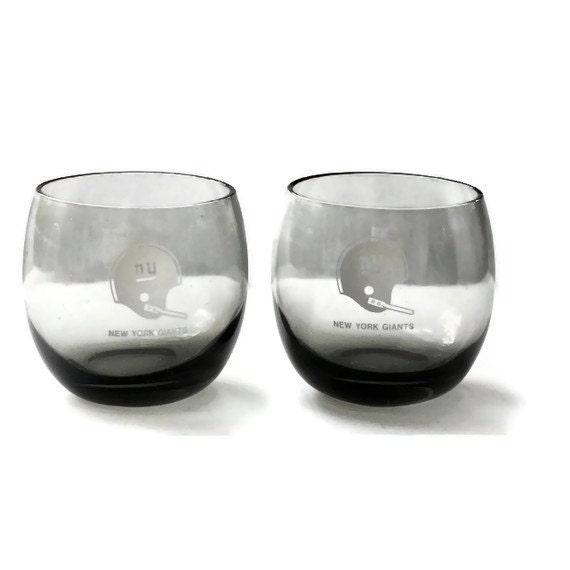 New York Giants Glasses - NFL Cocktail Glasses
