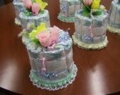 Centerpiece Diaper Cakes