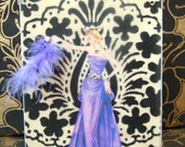 Princess Viola Card  / C6 Size / Handmade Greeting Card