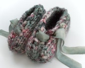 esmae's silk ribbon lounge slippers