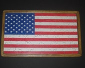STARS AND STRIPES - Wooden Jigsaw Tray Puzzle