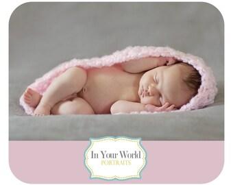 Heavenly Pink Baby Bowl Newborn Egg