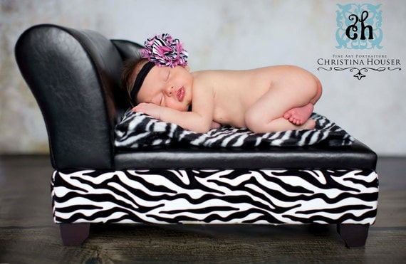 Zebra Fur, Faux Fur, Fur Rug, Photography Prop, Newborn Photography, Baby Photography, Photo Prop, Faux Fur Rug, 27x20