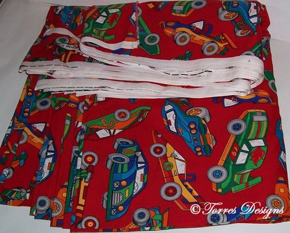 Sale Cotton Fabric 10 Yards Race Car Print For By