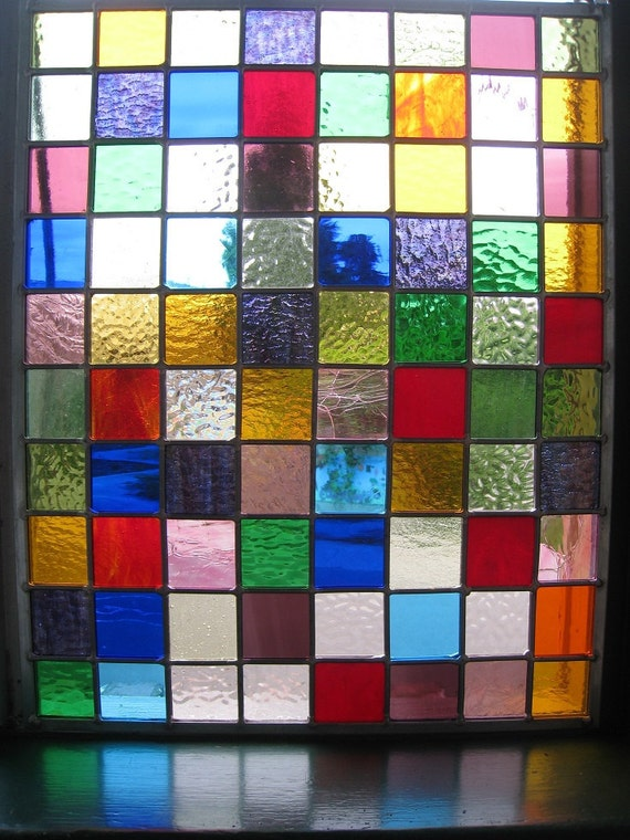Stained Glass Quilt - Reserved for Sue