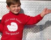 Christmas Holiday sweatshirt who needs Santa