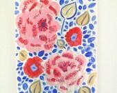 Original floral painting - Favourite floral