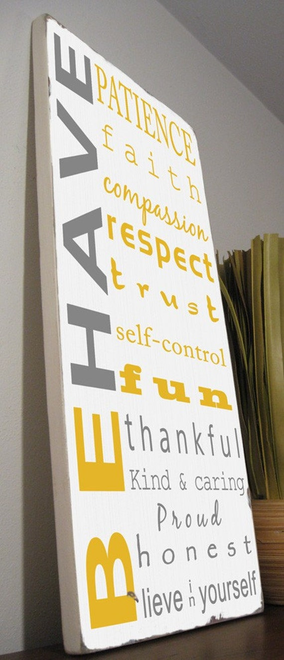 custom listing for ruby1508 family rules sign typography