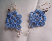 My Blue Tatted Earrings