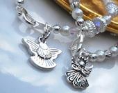 ANGELS Baby/Toddler/Child Charm Bracelet or Anklet