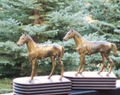 Antique Horse Bookends by Jennings Brothers