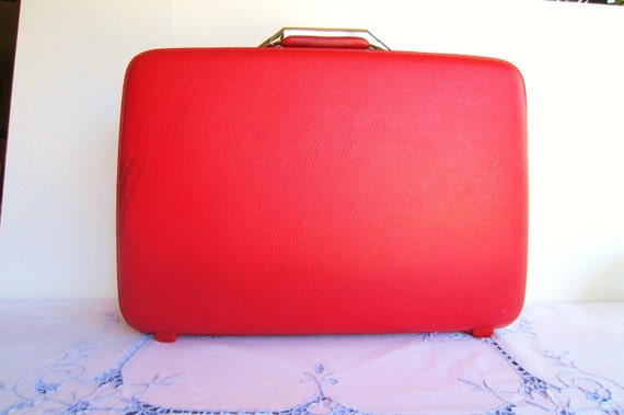 Small Red Suitcase - American Tourister Luggage - New Price