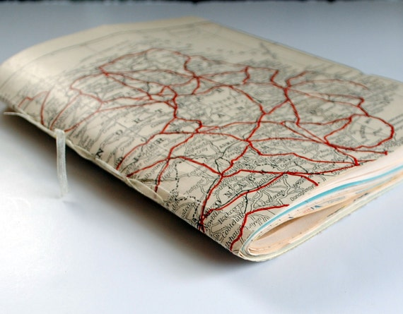 Ireland Vintage Map Journal