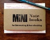 Letterpress Vintage Ledger Notepad