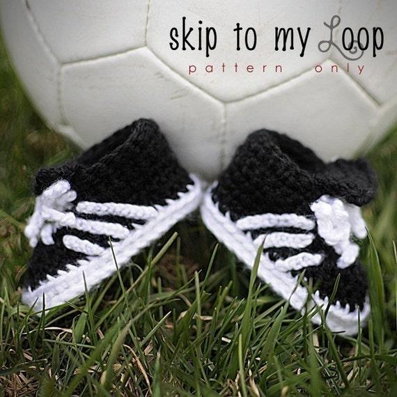 Baby Soccer Shoes - Crochet Pattern