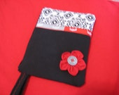 OSU Ohio State Wristlet with ID holder