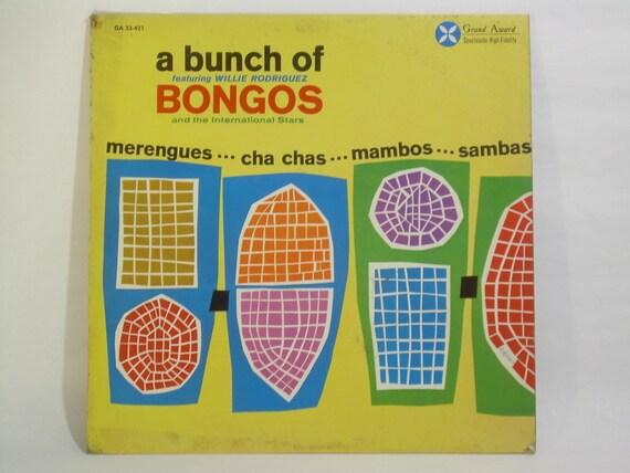 a bunch of BONGOS vintage LP