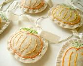 SALE - Embroidered Pumpkin Patch Garland