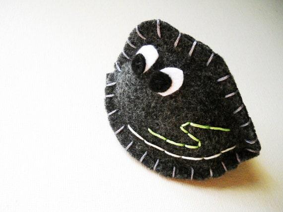 Karl the Pet Rock Plush - Felt Toy or Pin Cushion