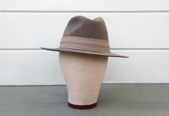 Man's Fedora Wool Felt Hat