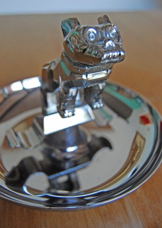 1960s Era Mack Truck Souvenir Ashtray