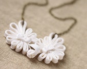 Chinese Button Lace Antique Brass Necklace - Purity
