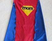 Custom Adult Super Mom Cape